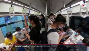 Covid-19 : contamination express dans un bus chinois