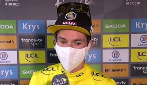 "Tour de France 2020 - Primoz Roglic : ""Another good day for us, and now the focus is on the Time Trial"""