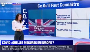 Quelles mesures contre la Covid-19 en Europe ?