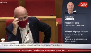 Le sénateur Bernard Jomier interpelle Agnès Buzyn sur la question des masques