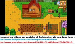 Stardew Valley en mode relax ! MES CULTURES J'AI PAS ARROSEEE VITE !!! (24/09/2020 21:52)