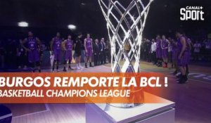 Burgos remporte la Basketball Champions League !