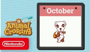 Animal Crossing: New Horizons - Exploring October - Nintendo Switch