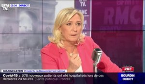 "Covid: pour Marine Le Pen, ""il y a une absence totale d'anticipation de la part du gouvernent"""