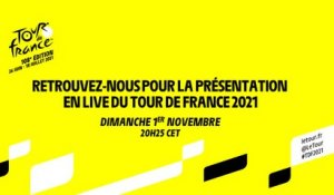 #TDF2021 - Présentation du Tour de France 2021 en direct !