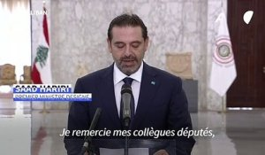 "Liban: Saad Hariri promet ""un gouvernement d'experts"" en accord avec ""l'initiative française"""