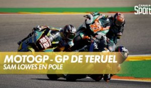 Sam Lowes en pole !