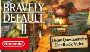 Bravely Default II – Player Feedback & Developer Update – Nintendo Switch