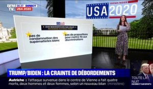 La question des discriminations raciales oppose Biden et Trump