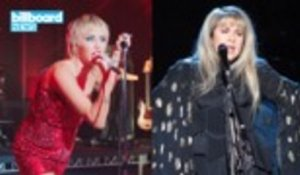 Stevie Nicks & Miley Cyrus Drop 'Edge of Midnight' Remix | Billboard News