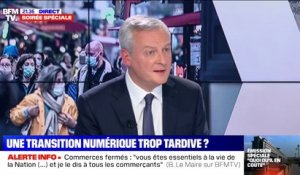 "Bruno Le Maire: ""Je n'ai pas la possibilité d'interdire"" le black friday"