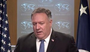 "Pompeo promet une ""transition en douceur"" vers un ""second"" mandat Trump"