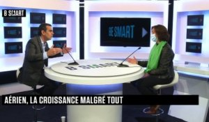 "BE SMART - L'interview ""Action"" de Nathalie Stubler (PDG, Transavia France) par Stéphane Soumier"