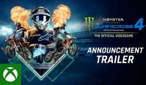 Supercross 4 | Announcement Trailer