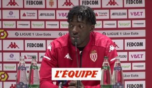 Disasi : «On sent qu'on trouve une dynamique» - Foot - L1 - Monaco