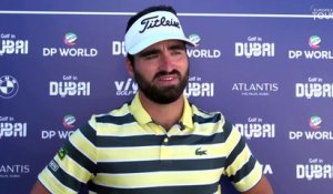 Golf in Dubai Championship (T1) : La réaction d'Antoine Rozner