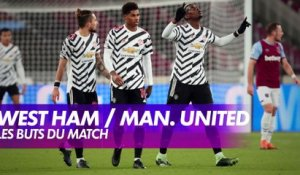 West Ham / Manchester United : les buts du match