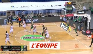 Le résumé de Panathinaïkos Athènes - Real Madrid - Basket - Euroligue - 14e j.