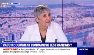 "Vaccin contre le Covid-19: ""Plus on ira vite, plus on contrôlera l'épidémie"" selon Catherine Hill"