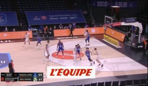 Causeur porte le Real - Basket - Euroligue (H)