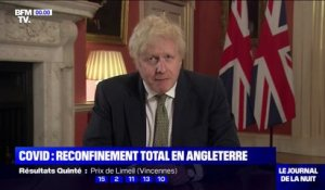 Covid-19: Boris Johnson annonce le reconfinement total de l'Angleterre