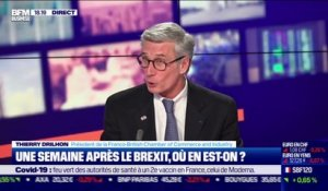 Thierry Drilhon (Franco-British Chamber of Commerce and Industry) : Douanes, TVA... Ce qui change après le Brexit ? - 08/01