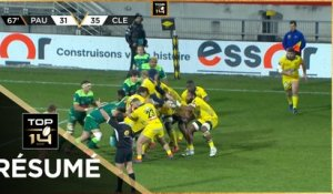 TOP 14 - Résumé Section Paloise-ASM Clermont: 31-42 - J14 - Saison 2020/2021