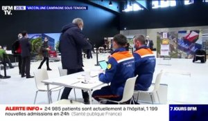 Vaccin, une campagne sous tension