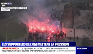 Des supporters de l'OM entrent de force au centre d'entraînement, 25 interpellations