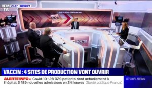 Vaccin: 4 sites de production vont ouvrir - 02/02