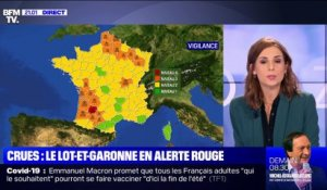Crues: Le Lot-et-Garonne en alerte rouge - 03/02