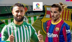 Real Betis-FC Barcelone : les compositions officielles