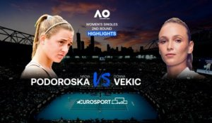 Highlights | Nadia Podoroska - Donna Vekic