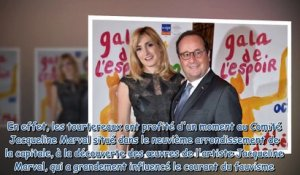 Julie Gayet et François Hollande font une apparition surprise