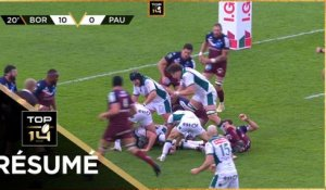 TOP 14 - Résumé Union Bordeaux-Bègles-Section Paloise: 29-23 - J18 - Saison 2020/2021