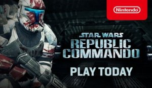 STAR WARS Republic Commando - Launch Trailer - Nintendo Switch