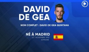 La fiche technique de David de Gea