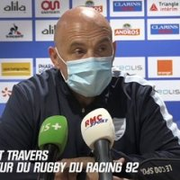 "Top 14 : ""On va devoir encore s'adapter"", Travers réagit au report de Racing - Stade Français"