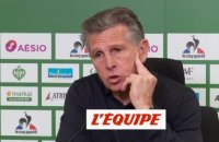 Puel : «On a envie de jouer ce genre de match» - Foot - L1 - ASSE