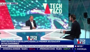 Start up & co : Prof en Poche a developpé Kidaia, le premier jeu éducatif en hologrammes - 21/04