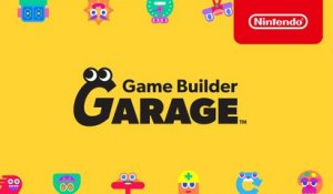 Game Builder Garage–Announcement Trailer–Nintendo Switch