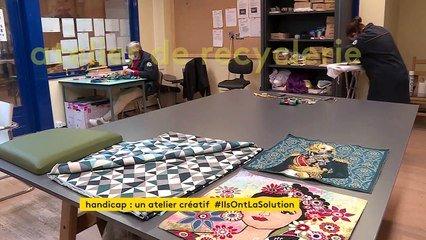 En Haute-Marne, des personnes en situation de handicap relookent de vieux  meubles