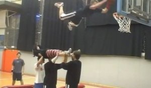 Basket acrobatique