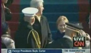 INVESTITURE OBAMA - À 17h20, Carter, Bush Sr, Clinton et Bus