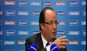 Hollande : en France, les oppositions sont majoritaires