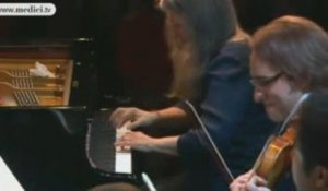 Beethoven piano concerto No.2 - Martha Argerich - medici.tv