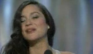 And the Oscar goes to... Marion Cotillard