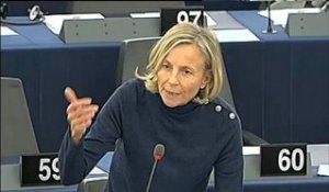 Intervention Marielle de Sarnez au Parlement Européen