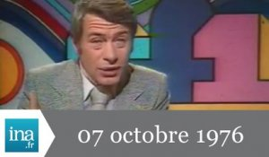 20h TF1 du 7 octobre 1976 - manifestations syndicales à Paris - Archive INA