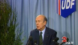 Sonore Valéry Giscard d'Estaing UDF